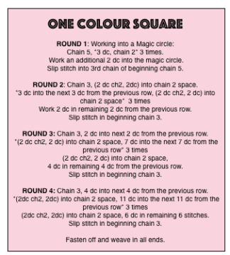 ONE COLOUR SQUARE